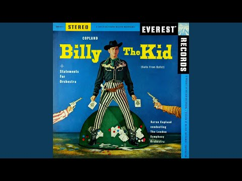 Billy the Kid, Ballet Suite: I The Open Prairie