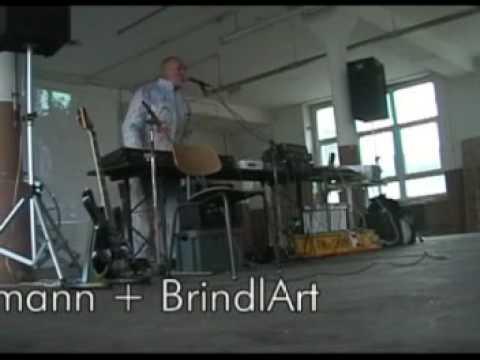 Eberhard Kranemann & BrindlArt Soundcheck in Wuppertal, Elba-Fabrik 12.12.2007