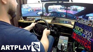 самый универсальный бюджетный руль в мире? Обзор Artplays Street Racing Wheel Turbo C900