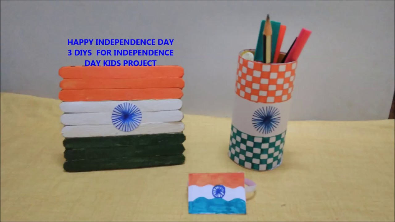 Independence Day Craft Tricolor Craftideas For Kids Tricolor