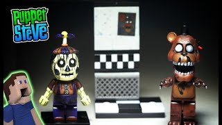 Five Nights at Freddy's Mcfarlane Toys Office Hallway PHANTOM BALLOON Boy FNAF Lego Unboxing Playset