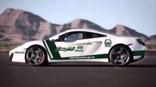 Top 10 Most Expensive Cars Owned by Dubai Police