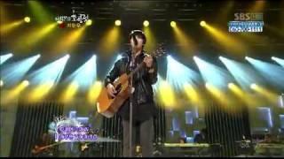 Ji Hyun Woo - singing Yellow