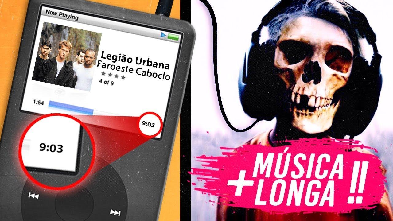 6 Músicas MAIS LONGAS da HISTÓRIA! ⏰ ????