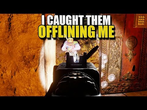THEY THOUGHT THEY WERE OFFLINE RAIDING ME (Rust Solo Survival) #57