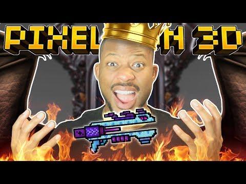ROAR! THE DRAGON KING!!   Pixel Gun 3D
