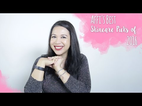 Affi's Best Skincare Picks Of 2016 | Skincare 101