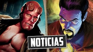 Noticias - Doctor Strange, Captain Marvel, Hellboy 3, Jessica Jones y más...