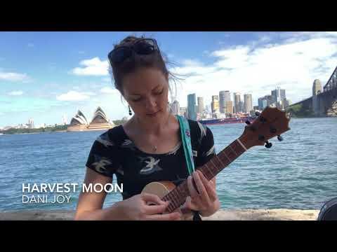 Harvest Moon ukulele cover by Dani Joy