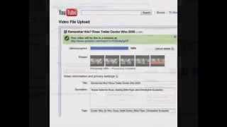 how to upload video to youtube-slideshow