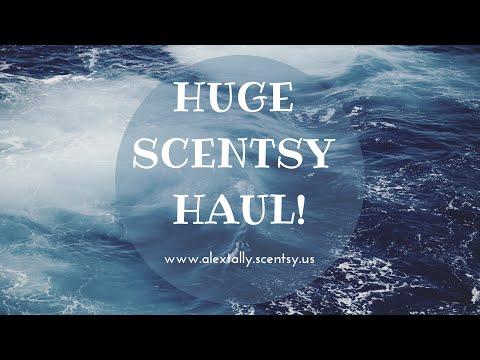 HUGE SCENTSY HAUL!!! #Scentsy