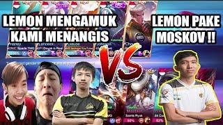 BIG MATCH!! LEO, BKENT, SPADE VS LEMON, CUDLE, WIZZKING, DRIAN - Mobile Legends Indonesia