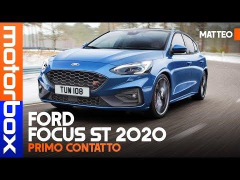 Ford Focus ST 2020   BENZINA da 280 CV e DIESEL da 190, solo a 5 PORTE
