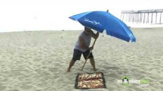 Beach Safety - How to Properly Install a Beach Umbrella