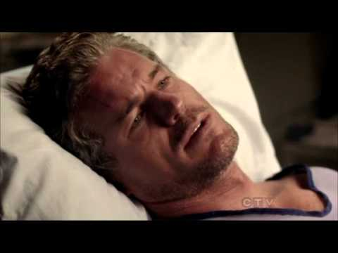 Grey's Anatomy 9x02- Mark and Julia Scene (I loved Lexie) and Derek/Callie Scene