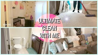 Ultimate Clean with Me 2018 / Extreme Cleaning Motivation!