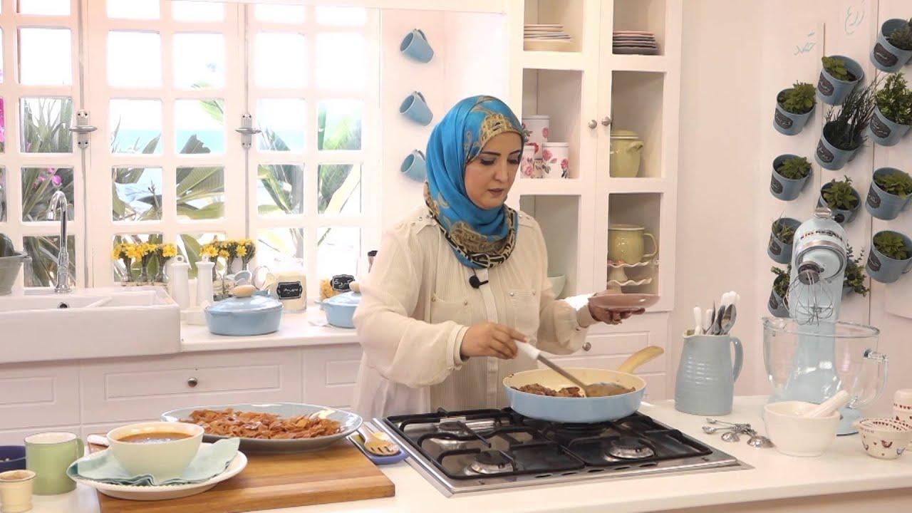 فتة السجق وشوربة لسان عصفور بالطماطم مع اسيا عثمان في مطبخ اسيا (الجزء الثاني)