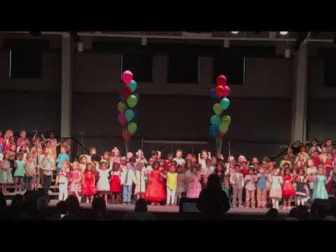 Pk3 Graduation Ceremony | Grace Early Childhood Center | Saanvi Gourishetti | #SaanviGourishetti