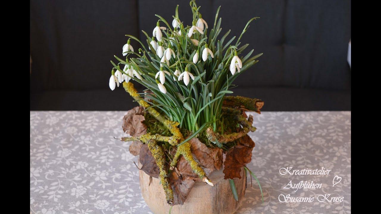 Beliebt Bevorzugt DIY: Einfache Frühlingsdeko - das Schneeglöckchen in Szene gesetzt #AC_54