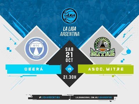 #LaLigaArgentina | Oberá Tenis Club vs. Asociación Mitre