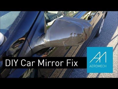 DIY Cheap Car Mirror Fix