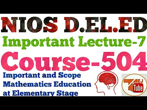 lecture about importance of education