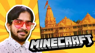 Building Ram Mandir in Minecraft! (Saiman Plays: Minecraft)