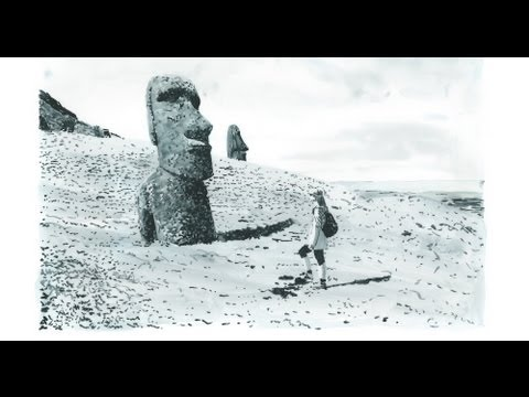 Easter Islands - Daniel Arsham illustrates for Louis Vuitton Travel Books 2013 - Unravel Travel TV