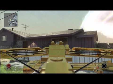 Call of Duty Black Ops Trucos - Como tener la ballesta en camuflaje ORO