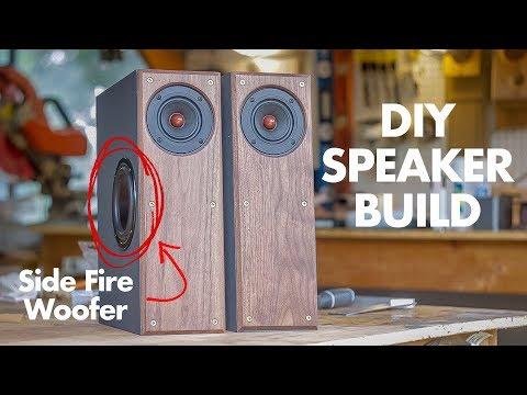 DIY Speaker Build | 2-Way Side Fire Subwoofer Speakers