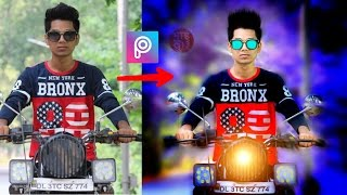 Best Cb Editing Tutorial | Boy Sit on Bike | Picsart Editing Tutorial | Taukeer Editz