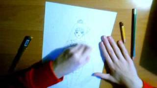 Drawing Setsuna (Part 1/2)