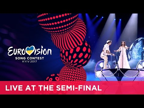 Naviband - Story Of My Life (Belarus) LIVE at the second Semi-Final