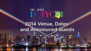 Big Apple Ponycon 2014 - Short MLP history and initial guests announced