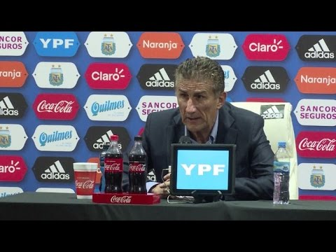 Bauza asegura que Argentina hizo un partido brillante ante Chile