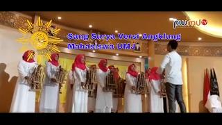 Sang Surya - Mars muhammadiyah Versi Angklung | Paduan Suara UM Jakarta