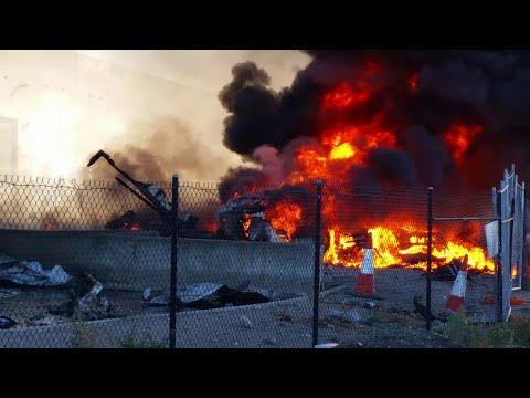 Plane Crash at DFO || ViralHog