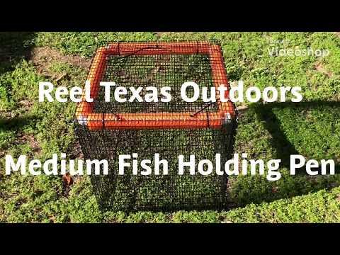 Live Fish Basket - Fish Cage - Fish Holding Pen (2x2x2 Ft Cube)