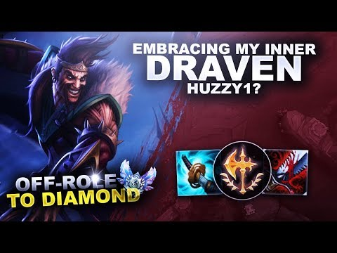 EMBRACING MY INNER DRAVEN! - OffRole to Diamond | League of Legends thumbnail