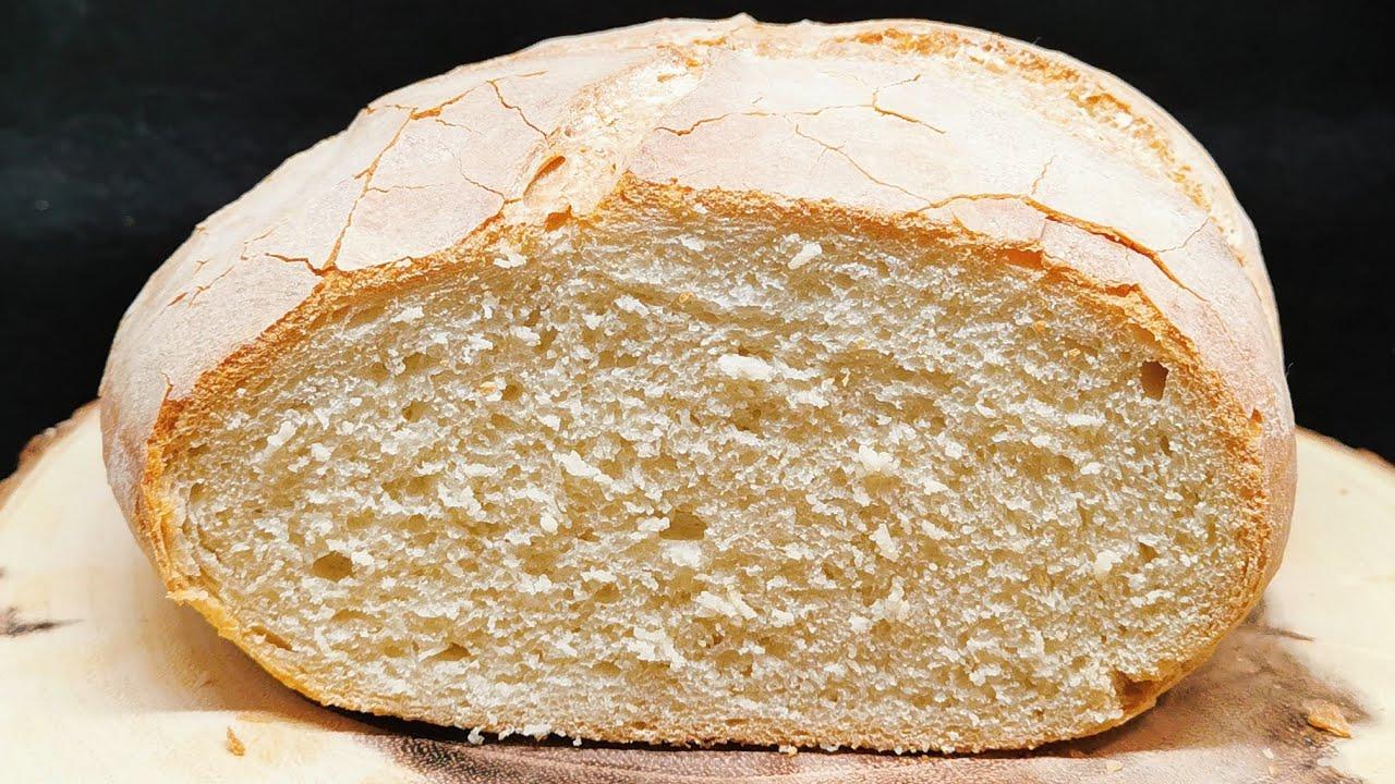 Cea mai buna si rapida paine de casa | Reteta usoara ca pe vremuri |