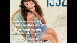 Mariah Carey - titles and awards 1991 - 2016