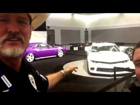 Steve Saleen Tesla Camaro SEMA LA Auto Show 2014 MustangMedic