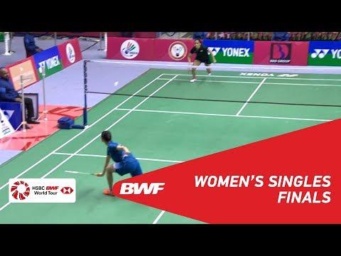 F | WS | HAN Yue (CHN) [4] vs Saina NEHWAL (IND) [2] | BWF 2018