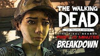 """The Walking Dead:Season 4: """"The Final Season"""" Gameplay First 15 minutes Breakdown - twd s4"""