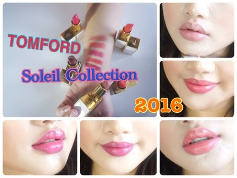 ~SWATCHES~ TOMFORD ULTRA RICH LIP COLOR