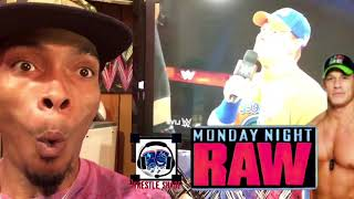 John Cena Decimates Roman Reigns : sep 11th 2017 : Wrestleshade live Monday Night Raw