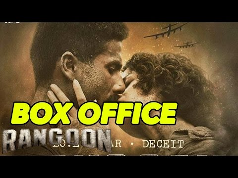 Box Office: Shahid Kapoor, Kangana Ranaut, Saif Ali Khan's Rangoon SHOCKING First Day Opening!