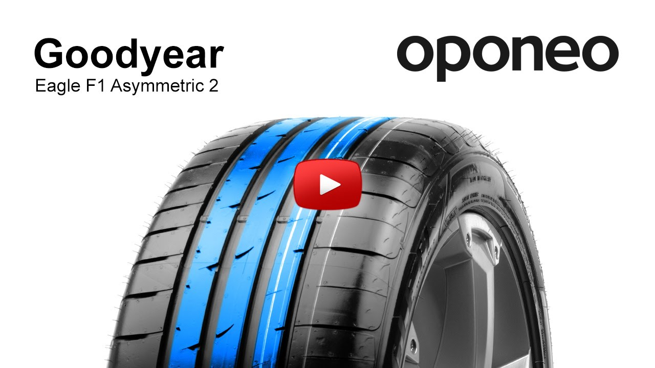 goodyear eagle f1 asymmetric 2 summer tyres oponeo youtube. Black Bedroom Furniture Sets. Home Design Ideas