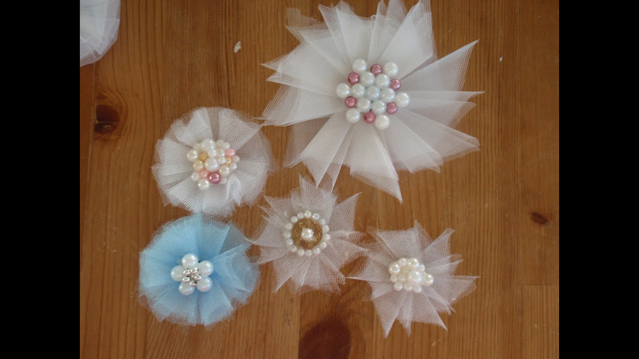 Diy Crafts With Tulle