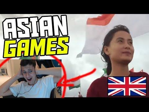 *REACTION* Energy18 Bright As The Sun - Official Song Asian Games 2018 (Asian Games Song)